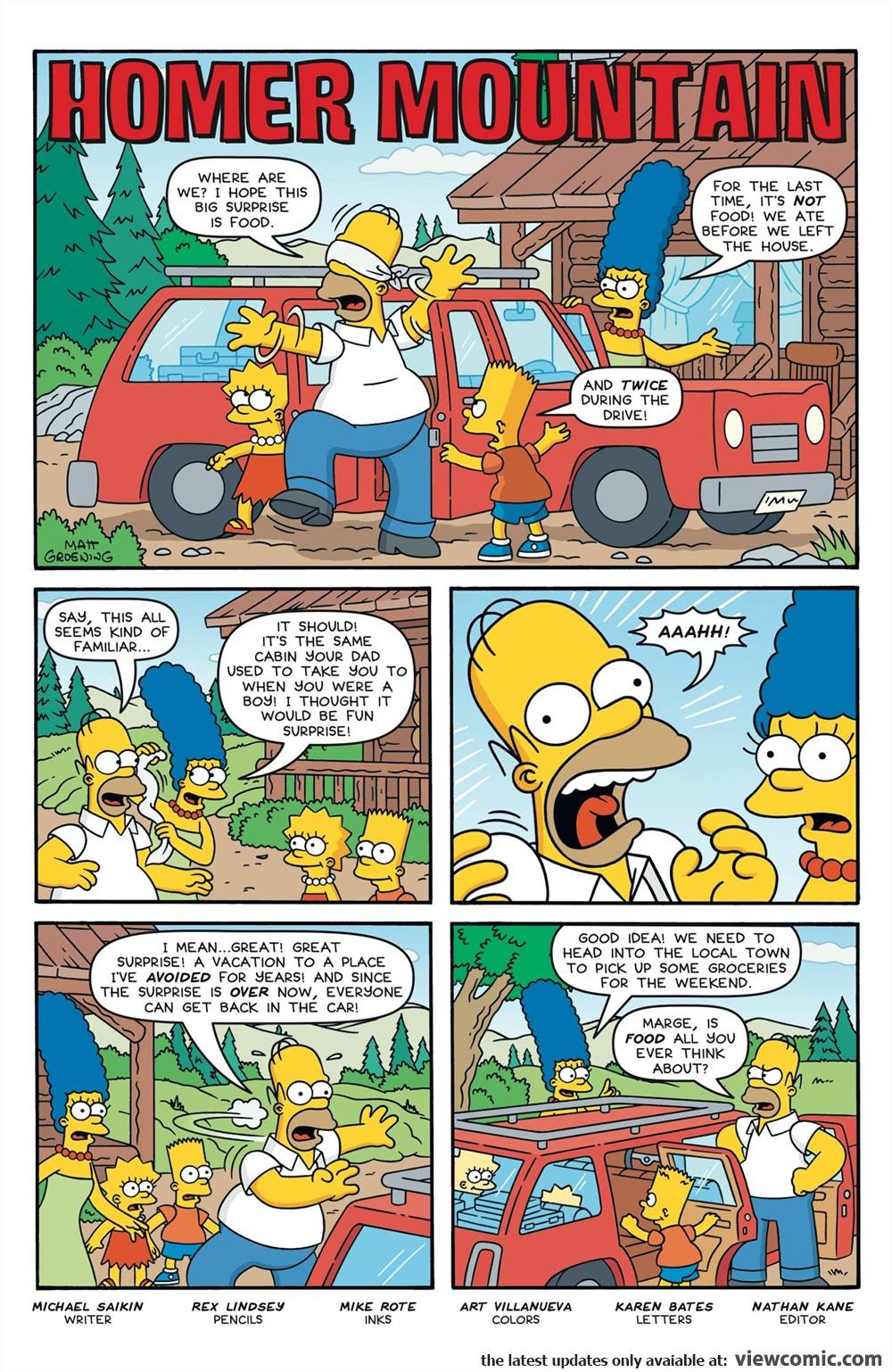 Simpsons Comics 236 (2017) . | Vietcomic.net reading ...