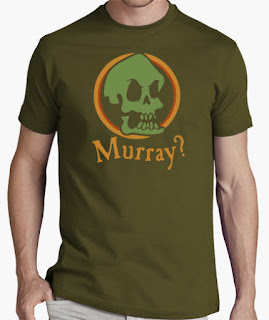 Camisetas Monkey Island calavera murray
