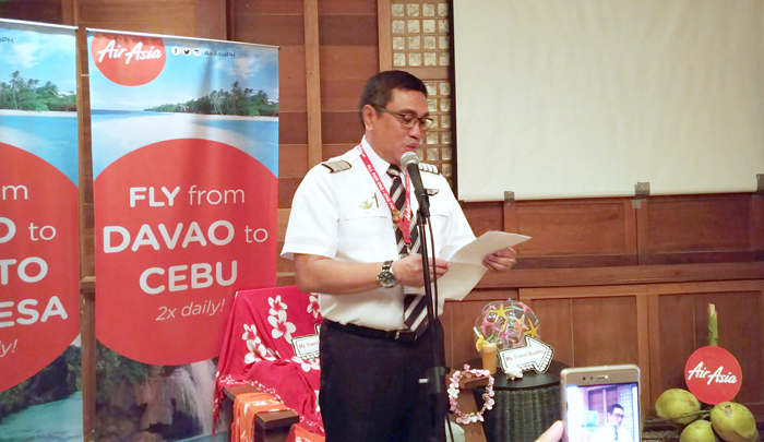 Capt. Dexter Comendador in Davao City