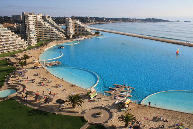 29 Most Amazing Infinity Pools in Pictures - San Alfonso del Mar, Algarrobo, Chile