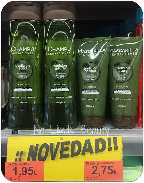 Champú y Mascarilla Sensaciones - Tradición Natural de Deliplús