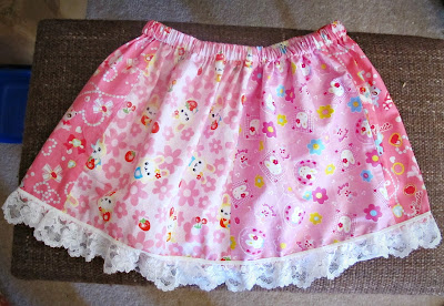 image girl's skirt pink kawaii white lace