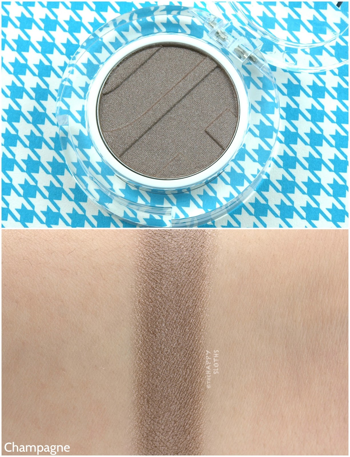 Joe Fresh Beauty Single Eyeshadow in Champagne: Review and Swatches
