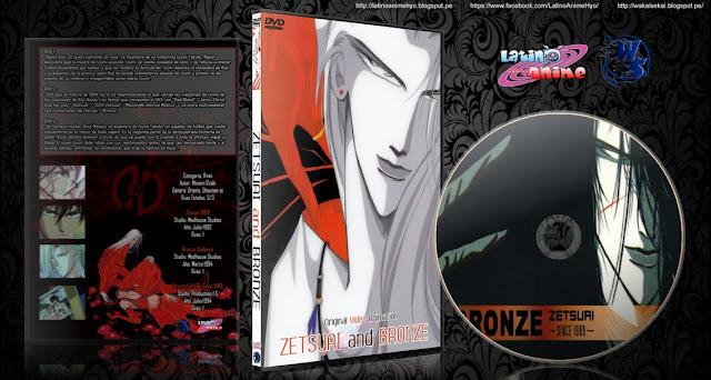 Zetsuai and Bronze | Cover DVD |