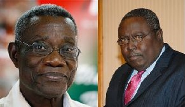 Atta Mills and Martin Amidu