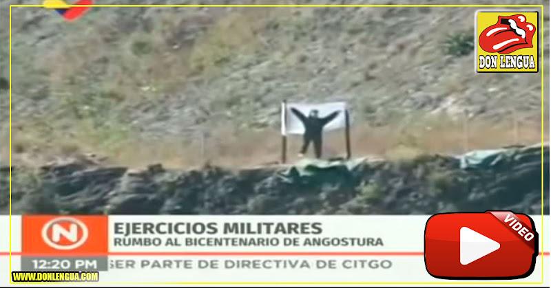 Francotirador de Maduro no pudo acertar en un blanco inmóvil y pasó pena
