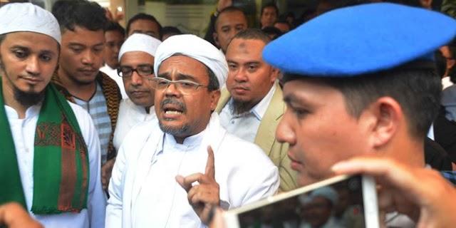 Polisi masih kumpulkan bukti pidato Rizieq Syihab soal palu arit