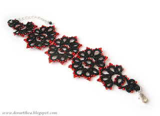https://www.etsy.com/listing/171813314/black-tatted-lace-bracelet-with-red