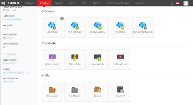 Pengalaman memilih tempat Webhosting terbaik untuk website baru