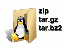Experdia: Linux Extract tar gz, tar bz2, unzip Command