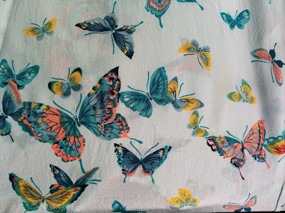 Creates Sew Slow: Gorgeous Butterflies silk crepe de chine