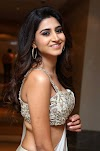 Varshini Looking Hot In Sleeveless Saree