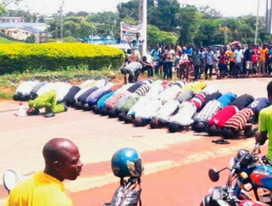 oau students locked up vc lecturers