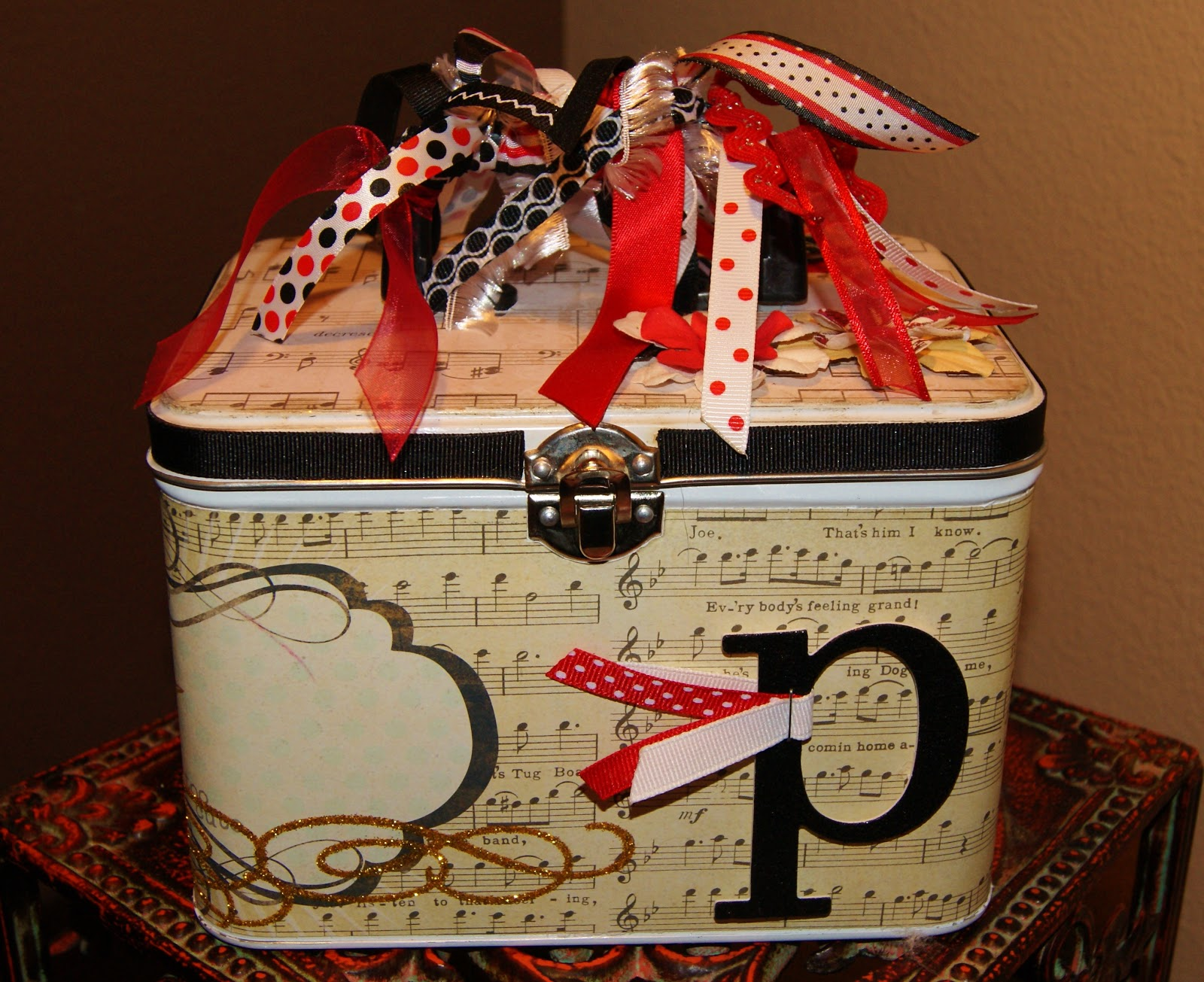 Altered To Perfection Altered Quot Lunch Box Quot Tin Music Teacher
