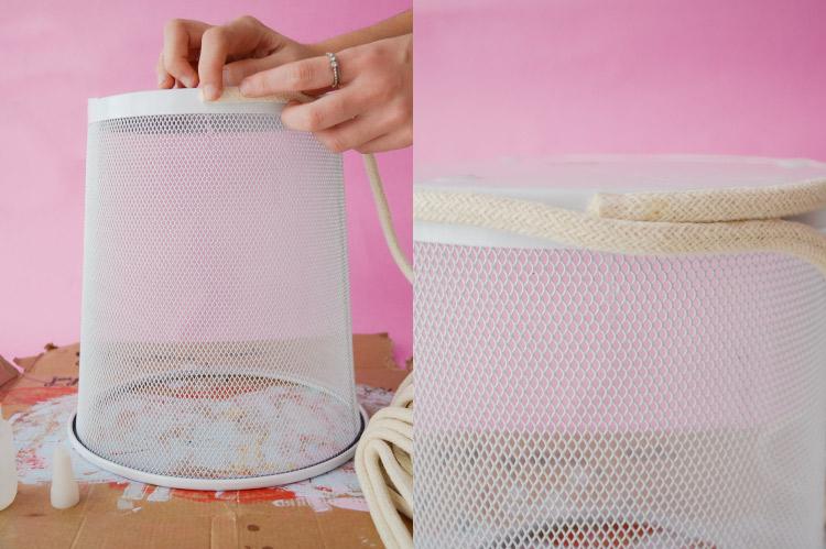 DIY: cesto de corda (o MELHOR truque de organização da vida!) | espanta-papão