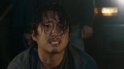 Glenn vítima  de Negan