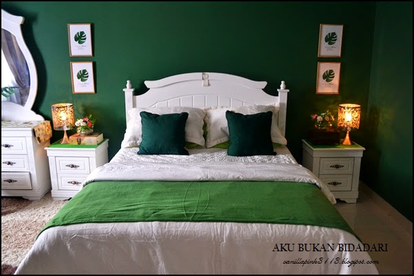 Bilik Tidur Kod Cat Emerald Green