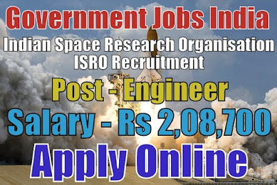 Indian Space Research Organisation ISRO Recruitment 2018