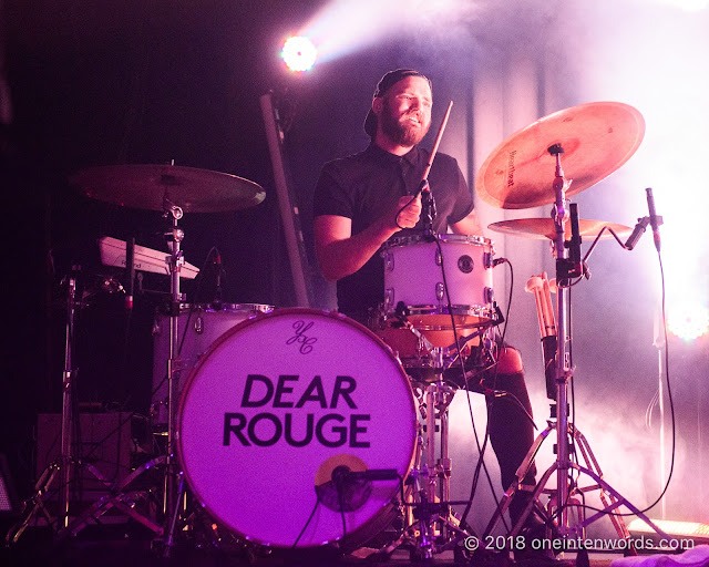 Dear Rouge at The Danforth Music Hall on October 18, 2018 Photo by John Ordean at One In Ten Words oneintenwords.com toronto indie alternative live music blog concert photography pictures photos