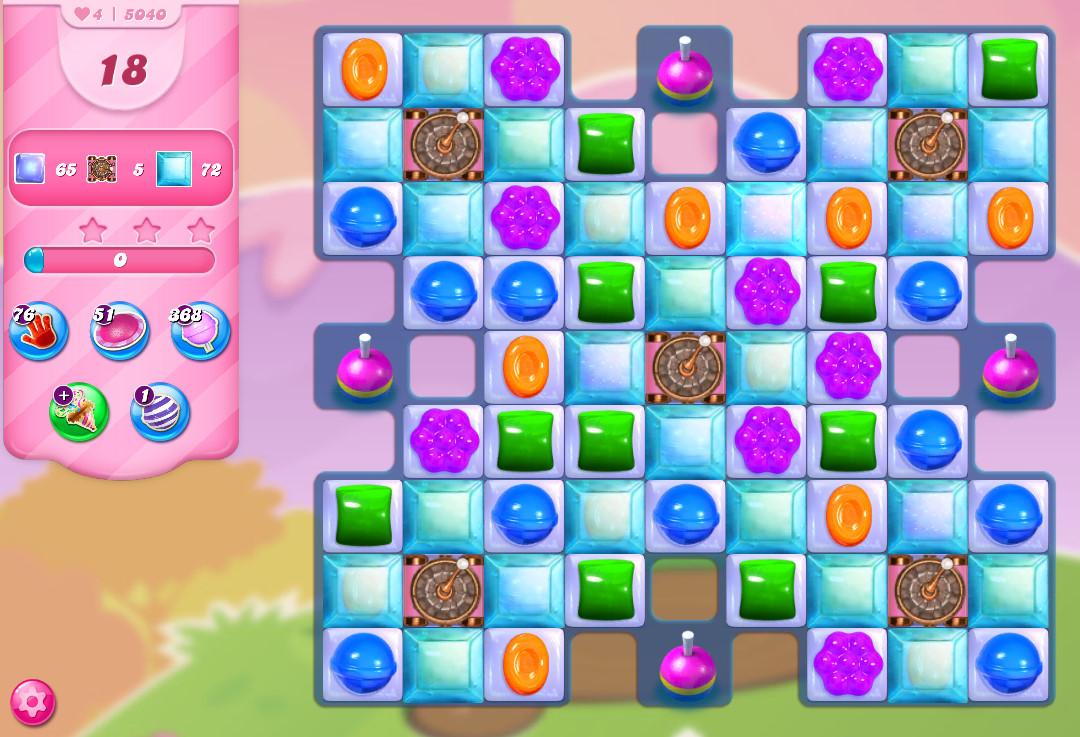 Candy Crush Saga level 5040