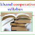 Uttarakhand cooperative bank Clerk/PO syllabus 2019