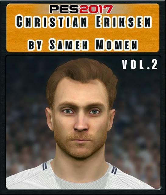 Face Christian Eriksen PES 2017