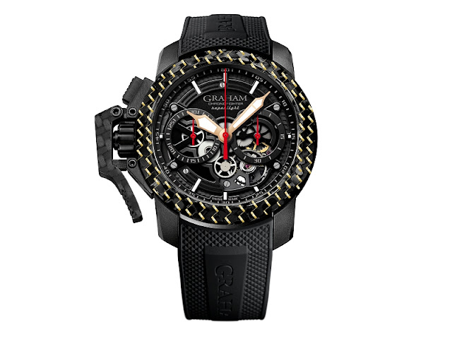 Graham Chronofighter Superlight Carbon Skeleton - a lightweight with a substantial presence