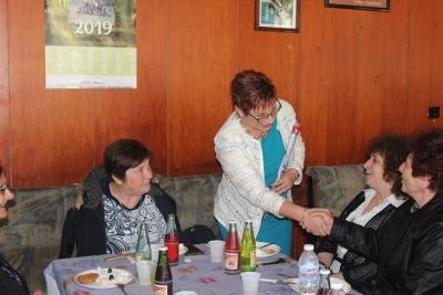 Кметът на Община Тетевен и председателят на Общинския съвет бяха гости на тържества по случай празника 8-ми март