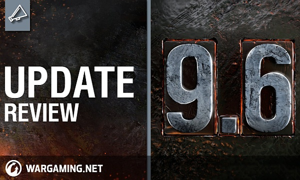 World of Tanks Update 9.6