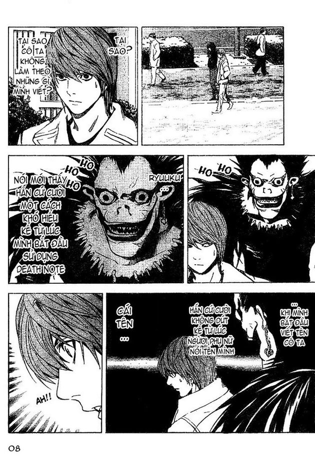 Death Note chapter 013 trang 8