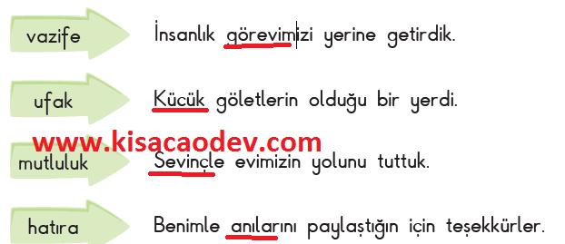 3. Sınıf SDR Dikey Yayınları Türkçe Sayfa 65. 66. 67. 68. 69. 70. Merve'nin Günlüğü Metni Etkinlik Cevapları
