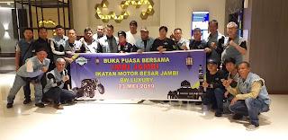 Ketua IMBI Provinsi Jambi Buka Bersama Dengan Para Anggota Dan Pengurus.