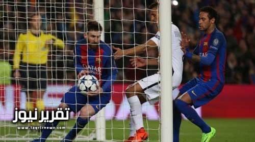 برشلونة يسحق سان جيرمان بسداسية ويتأهل لربع نهائى دوري أبطال أوروبا