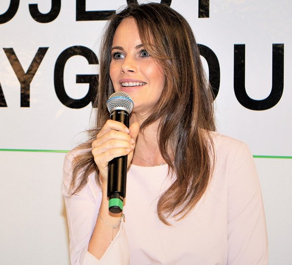 Princess Sofia of Sweden initiated a new project of Project Playground. Princess Sofia is the founder of Project Playground