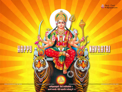 Navratri Bhakti Wallpaper