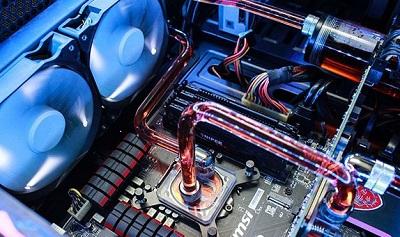 Ống dẫn nước đi vào CPU