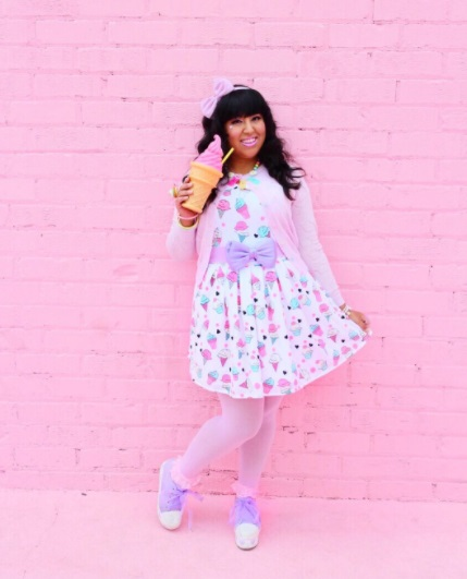 Instagram messypink kawaii outfit bonne chance collection perpetual kid