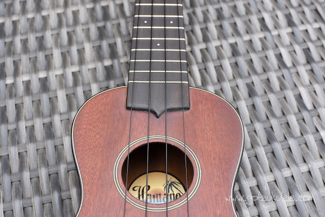 Hamano H-100 Ukulele finish