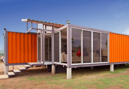 Decorate a Container Homes Kits Ideas 2