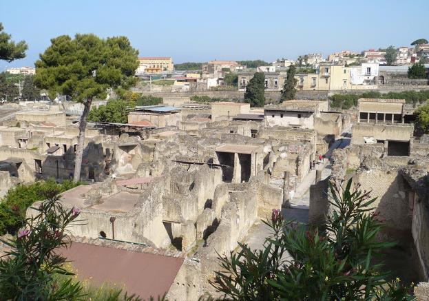 scavi di Ercolano