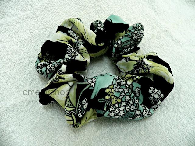 handmade srunchies