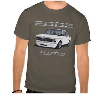 BMW 2002 turbo (e20) t-paita