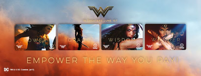 Wonder Woman Beep Card