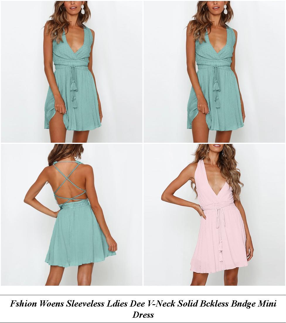 Knee Length Tea Dresses Uk - Clothing Store Clearance Sales - Velvet Dress With White Shirt