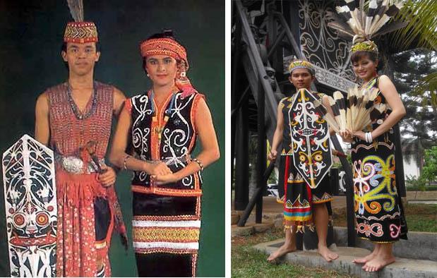 5 Pakaian Adat Kalimantan Timur : Gambar dan Filosofinya
