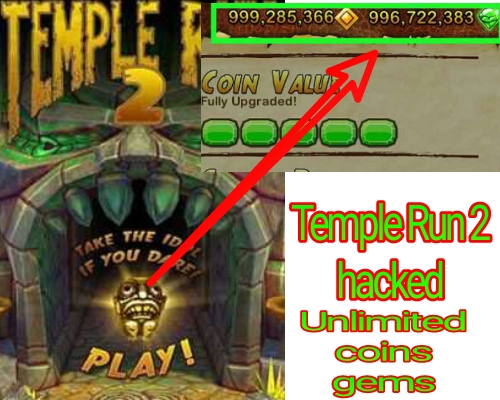 Temple Run 2 Hack 2018 – Free Unlimited Coins and Gems for Android/IOS
