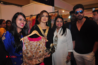 Bollywood Actress Sana Khan Launches Aakrithi Exibition  0325.JPG