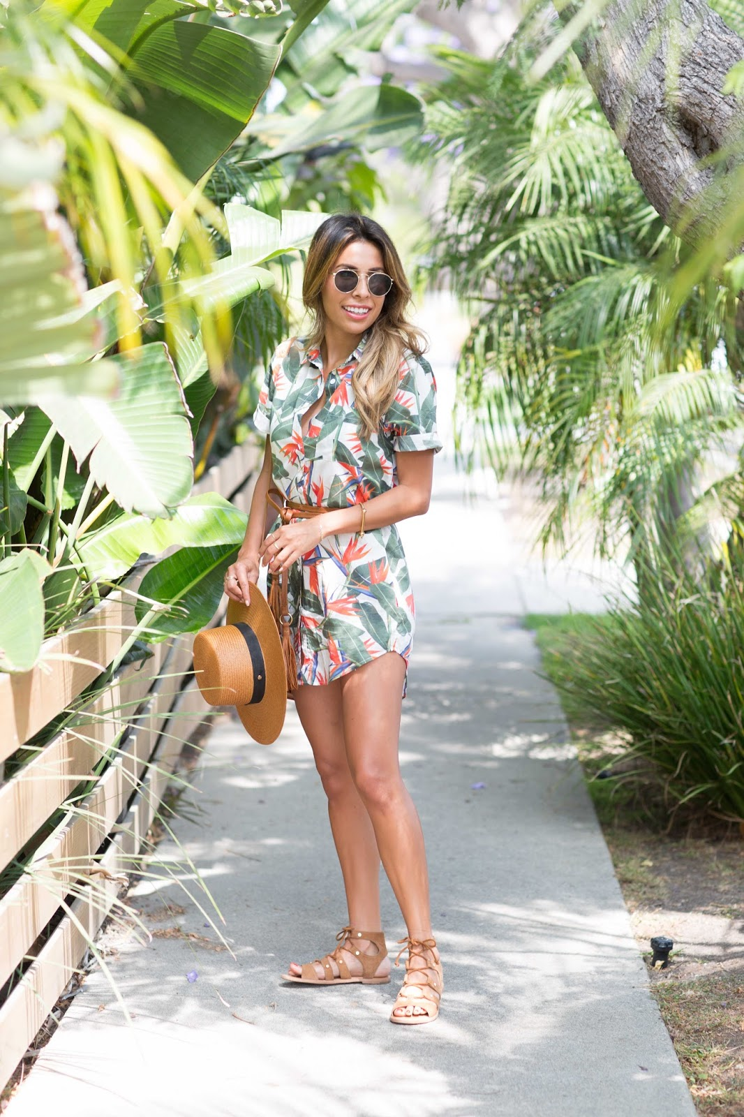 how to wear tropical print, janessa leone, revolveclothing, miami outfit ideas