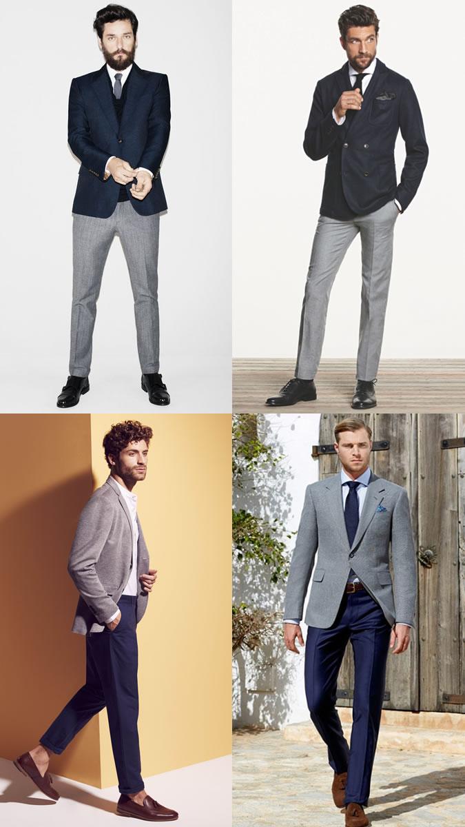 cách phối đồ cho nam hoàn hảo với thời trang công sở nam