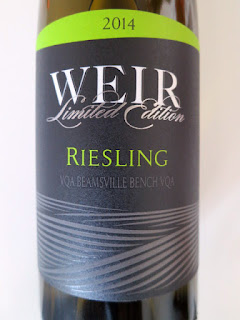 Mike Weir Limited Edition Riesling 2014 - VQA Beamsville Bench, Niagara Peninsula, Ontario, Canada (89 pts)